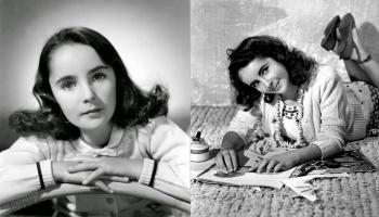 Элизабет Тейлор в детстве – фото юной актрисы в 1940-х