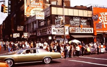 Каким был Манхэттен в 80-х годах - фотографии Нью-Йорка