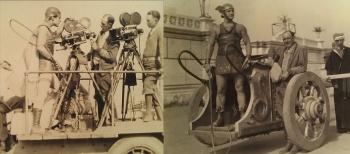 Как снимали «Бен Гур : история Христа», самый дорогой фильм в истории немого кино  - интересные факты и фото со съёмочной площадки
