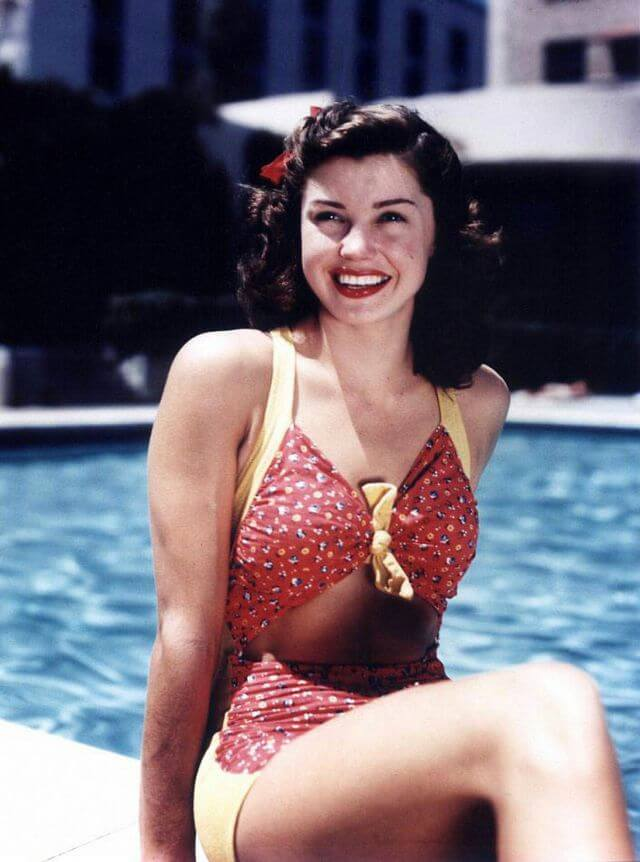 Фото Эстер Уильямс (Esther Williams) в молодости
