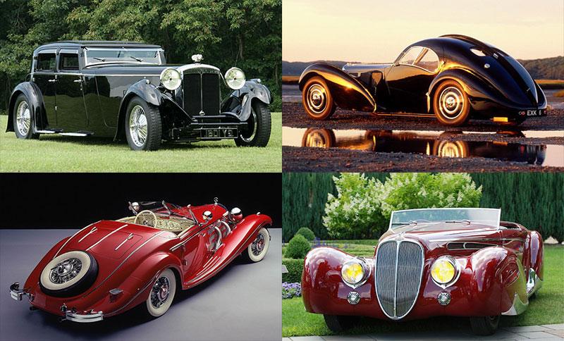 Роскошные дорогие автомобили 1930-х годов с необычным дизайном, который опередил свое время