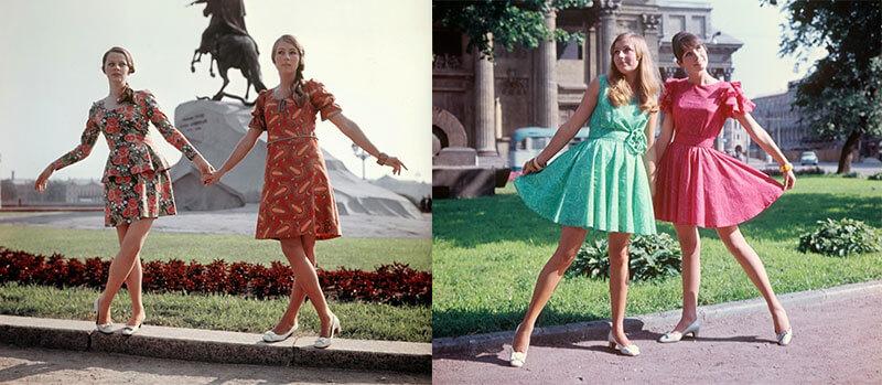 Женская мода СССР 1960-х и 1970-х