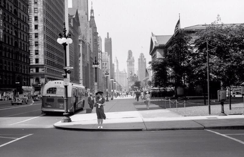 Чикаго 40-х годов: фотографии повседневной жизни мегаполиса через объектив Джона Вакона