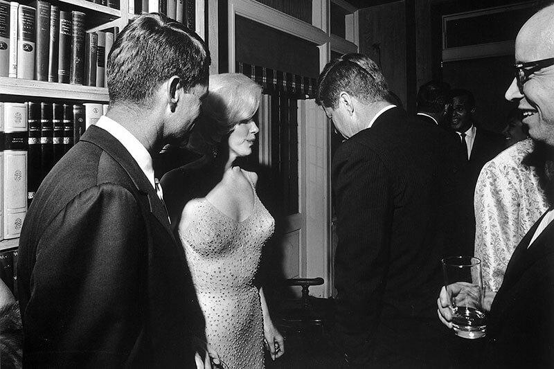 Мэрилин Монро и Джон Ф. Кеннеди — история единственной совместной подлинной фотографии, 19 мая 1962
