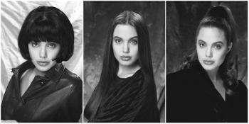Анжелины Джоли фото в молодости (первая фотосессия юной звезды)