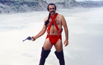 Шон Коннери в красных трусах с подтяжками – как снимали «Зардоз», самый странный фильм в карьере великого британского актера