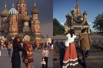 Москва 1970-х годов: цветные фотографии столицы СССР