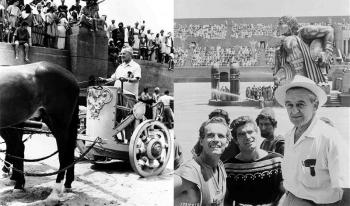 Как снимали фильм Бен-Гур (Ben-Hur) 1959 года