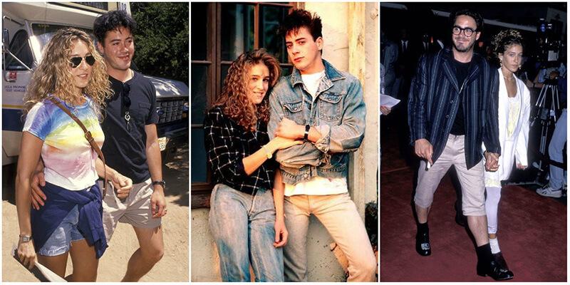 Роберт Дауни-младший и Сара Джессика Паркер — история любви и совместные фотографии самой красивой пары Голливуда 1980-х