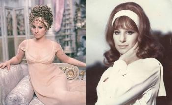 Фотографии Барбры Стрейзанд в молодости — американской певицы и актрисы, обладательницы двух «Оскаров»