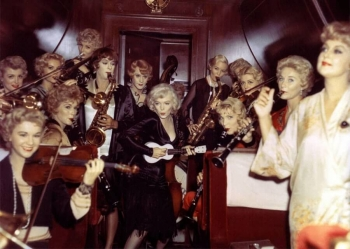 Как снимали фильм «В джазе только девушки» 1959 года