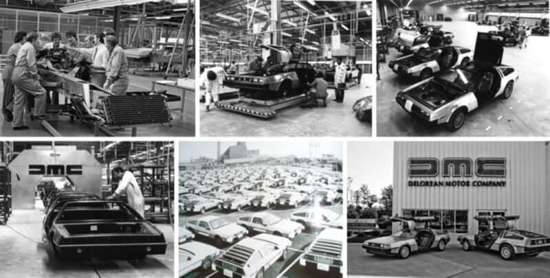 Производство автомобиля Делориан (DeLorean DMC-12)