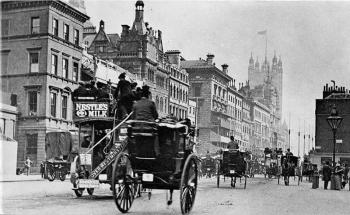 Лондон XIX века – исторические фотографии британской столицы
