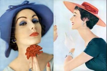 Модные женские шляпки 1950-х годов «Emme Hats»