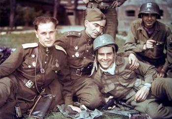 Фотографии Советских Солдат времен Второй мировой войны
