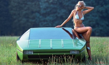 Lamborghini Bravo 1974 — концепт автомобиля Марчелло Гандини, который так и не стал серийным