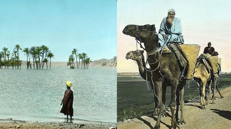 Египет в начале XX века: история и фотографии жизни людей и туристических мест