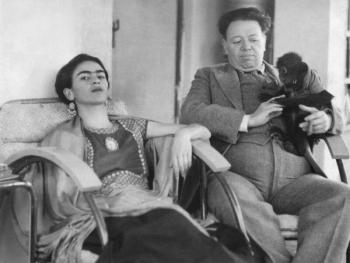 Фрида Кало и Диего Ривера: история любви и семейные фото великих художников XX века