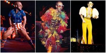 Фотографии Элтона Джона – лучшие сценические костюмы культового артиста