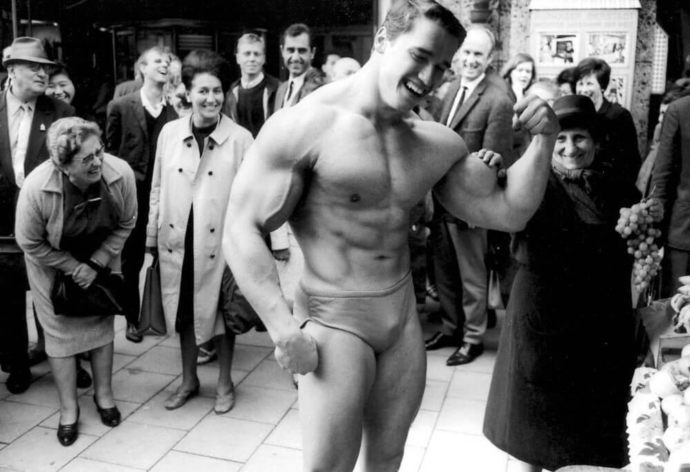 Арнольд Шварценеггер - путь к успеху Мистера Вселенная и менеджера фитнес-клуба, Мюнхен 1967 год