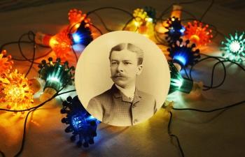 Эдвард Хибберд Джонсон — изобретатель новогодних гирлянд