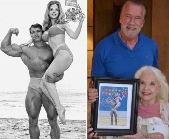 Арнольд Шварценеггер и Бетти Бросмер – фото звезд фитнеса 1970-х тогда и сейчас