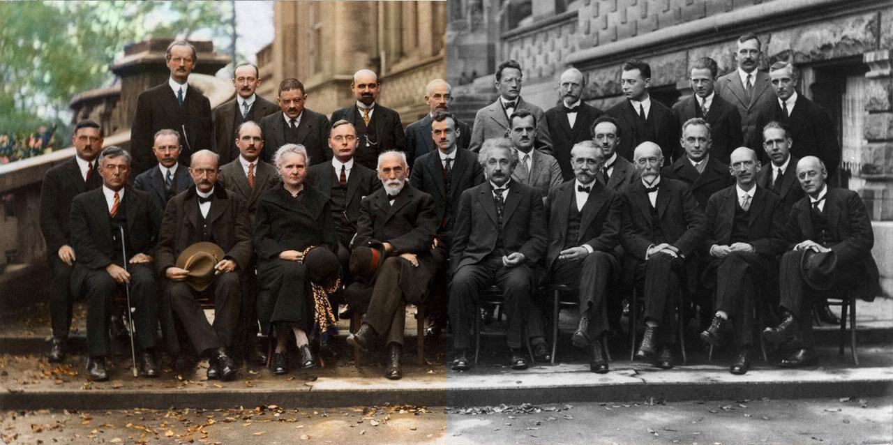 5 Сольвеевский конгресс (1927 год) - Альберт Эйнштейн и другие ведущие ученые