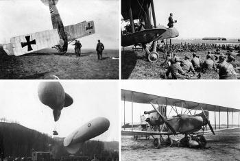 Авиация Первой мировой войны (фото): самолеты, дирижабли и другие летательные аппараты