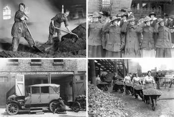 Женщины во время Первой мировой войны
